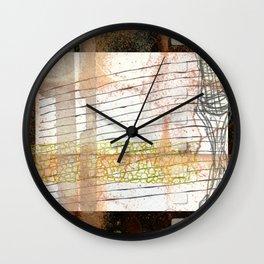 2018 Departure 9 Variation Wall Clock