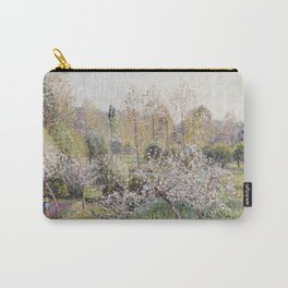 Camille Pissarro - Apple Trees In Blossom  Eragny Carry-All Pouch