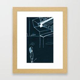 DON'T.OK. Framed Art Print