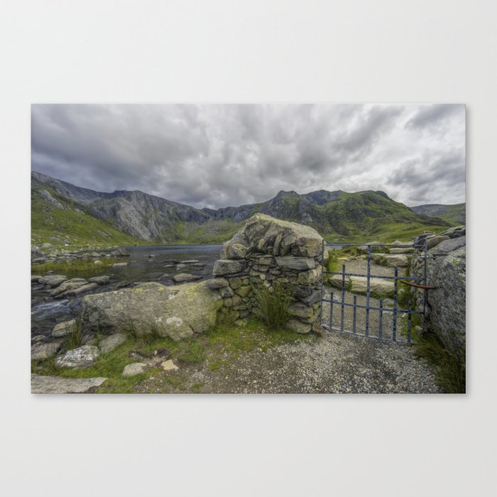 Gate To The Lake Canvas Print