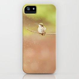Sitting Pretty iPhone Case