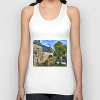 postcard Tank Tops featuring French Postcard by Exquisite Photography by Lanis Rossi
