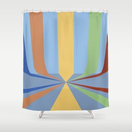 The Rainbow Room Shower Curtain