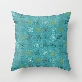 seedheads blue Throw Pillow
