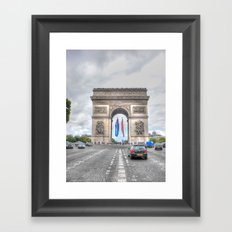 Arc de Triomphe 1 Framed Art Print