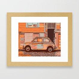 500 in city Framed Art Print