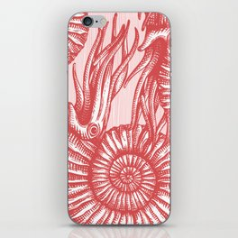 AMMONITE COLLECTION RED iPhone Skin