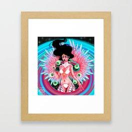 Dax, Angel of the Prismatic Framed Art Print