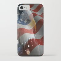 patriotic iPhone & iPod Cases featuring Patriotic America by D.A.S.E. 3
