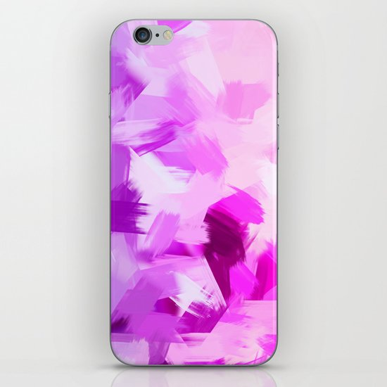 BLOSSOMS - VIOLET iPhone & iPod Skin