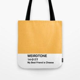 My Best Friend is Cheese Tote Bag
