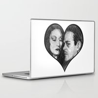 selena gomez Laptop & iPad Skins featuring Morticia and Gomez by Jake Anthony