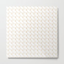 Elegant Andean Pattern Design Metal Print