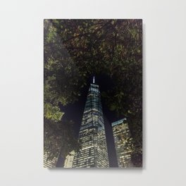 Freedom through the trees - NYC Metal Print