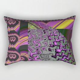 Forbidden Planet Rectangular Pillow