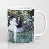 fairies Mugs featuring Fairies by Hugh Hamilton