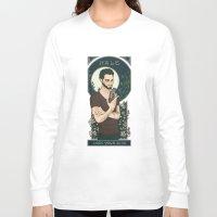 derek hale Long Sleeve T-shirts featuring Derek by callahaa