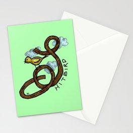 shitbird - 31daysofcursing Stationery Cards