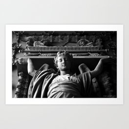 The Temple Art Print