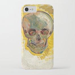 Vincent Van Gogh Skull iPhone Case