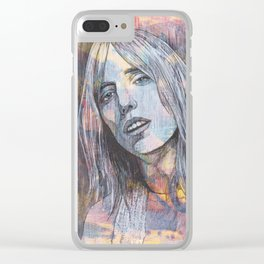 Tom Petty - Don't Do Me Like That Clear iPhone Case