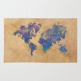 world map 92  #worldmap #map #world Rug