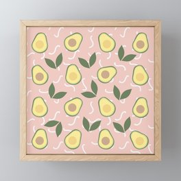Avocado Fiesta Framed Mini Art Print