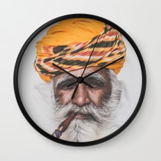 Jodhpur (colour) Wall Clock