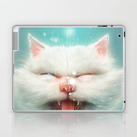 The Water Kitty Laptop & iPad Skin