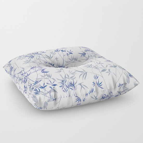 Exotic Floor Pillows : exotic blue Floor Pillow by Youdesignme Society6