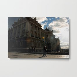 """Movimiento coordinado"" Metal Print"