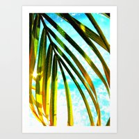 palm Art Prints featuring Palm by Stephanie Stonato