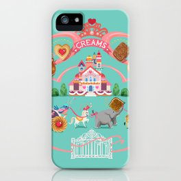 Cookies and Cream, Biscuits and Tea. iPhone Case