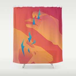 Outersoul Shower Curtain