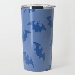 Blue Bats Travel Mug