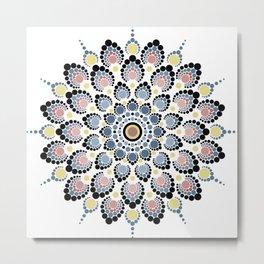 Universal Flower Metal Print
