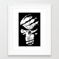 punisher Framed Art Prints featuring Punisher by Spectral stories