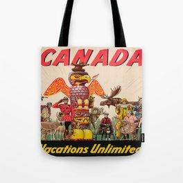 Vintage poster - Canada Tote Bag