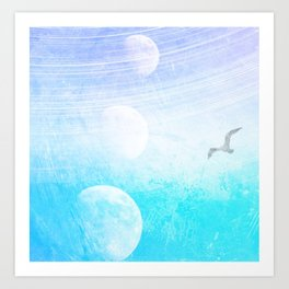 Many Moons Ago Art Print