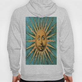 Vintage Sun Print Hoody