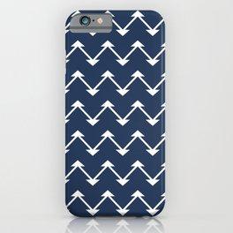 Jute in Navy Blue iPhone Case