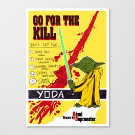 Kill Wars Canvas Print
