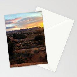 Sandflats Sunset Stationery Cards