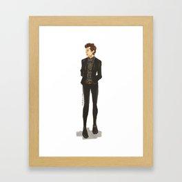 brits 14 Framed Art Print