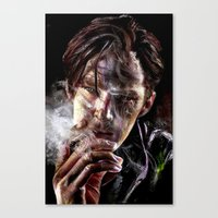 benedict cumberbatch Canvas Prints featuring benedict cumberbatch by jiyounglee0711