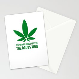 The Drugs Won (1) Stationery Cards