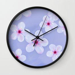 Cherry Blossoms - Painting Wall Clock