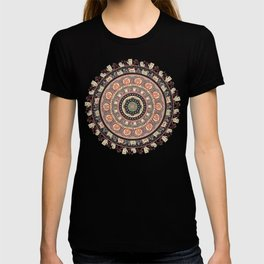 Cat Yoga Medallion T-shirt