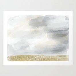 Grassland Art Print