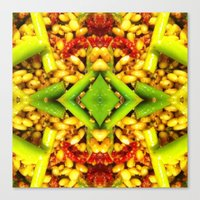 pasta Canvas Prints featuring pasta by Andree Michelle